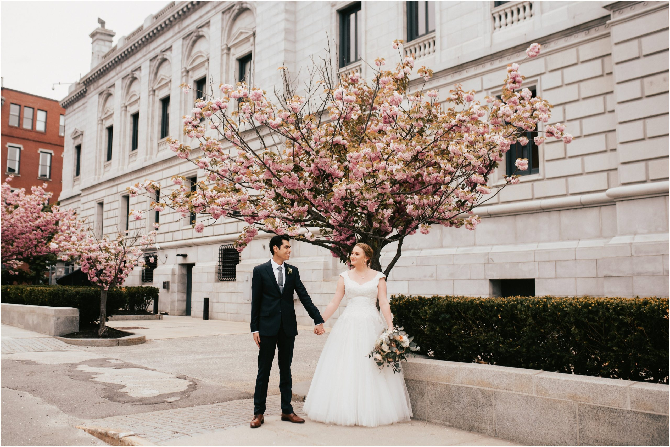 downtown portland maine wedding