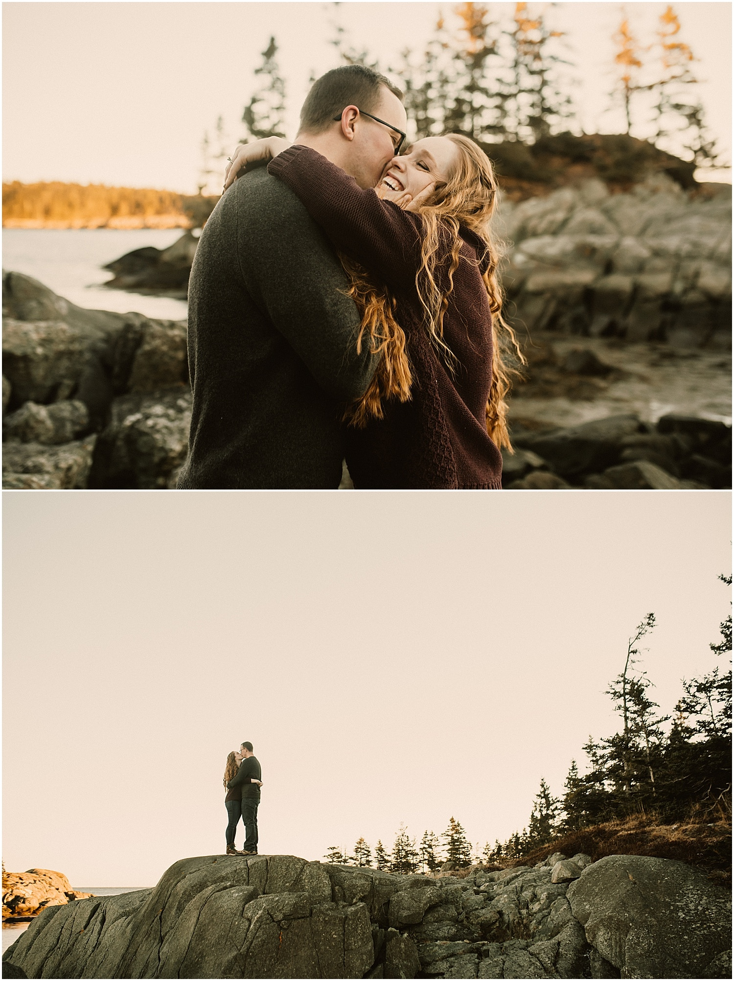 couples photos in eastern maine