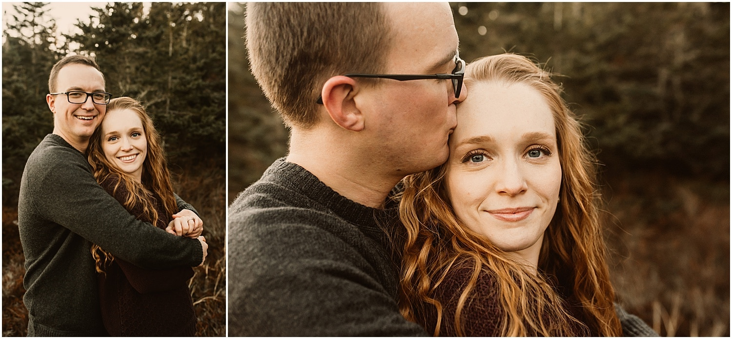 intimate couples photos in eastern maine