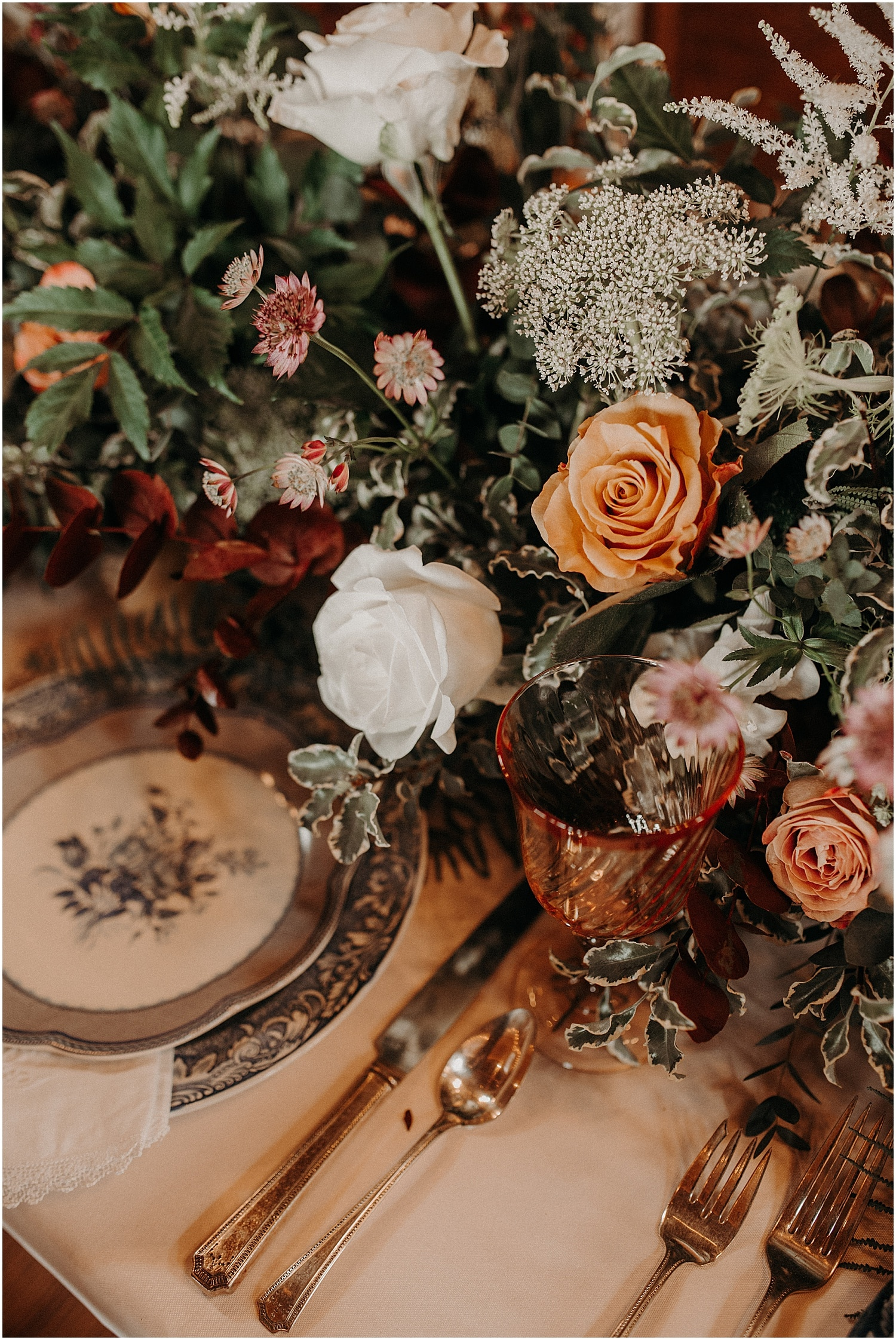 Tablescape at the Wildflower Workshop 2019