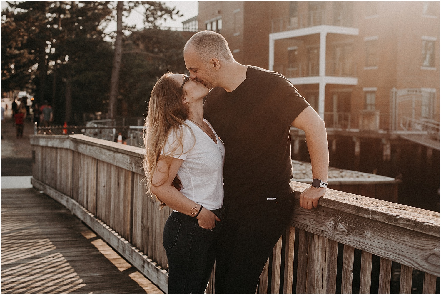 portsmouth engagement session at prescott park
