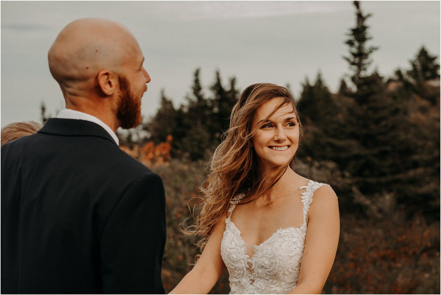 cadillac mountain elopement ceremony