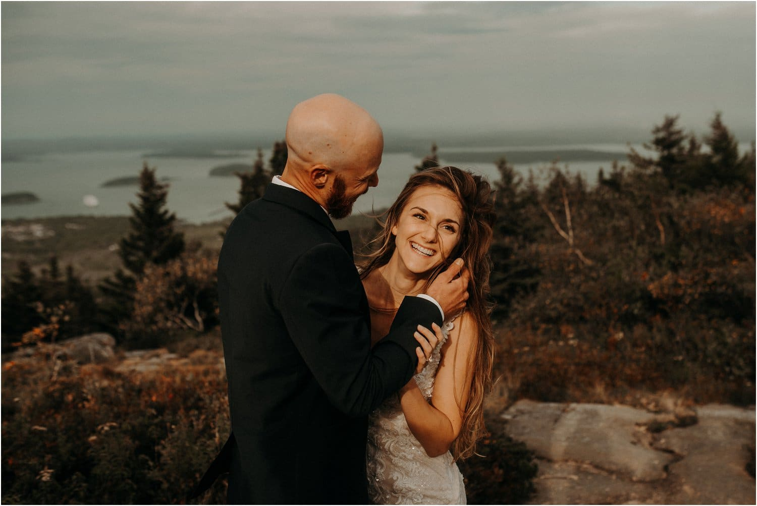 married on cadillac mountain