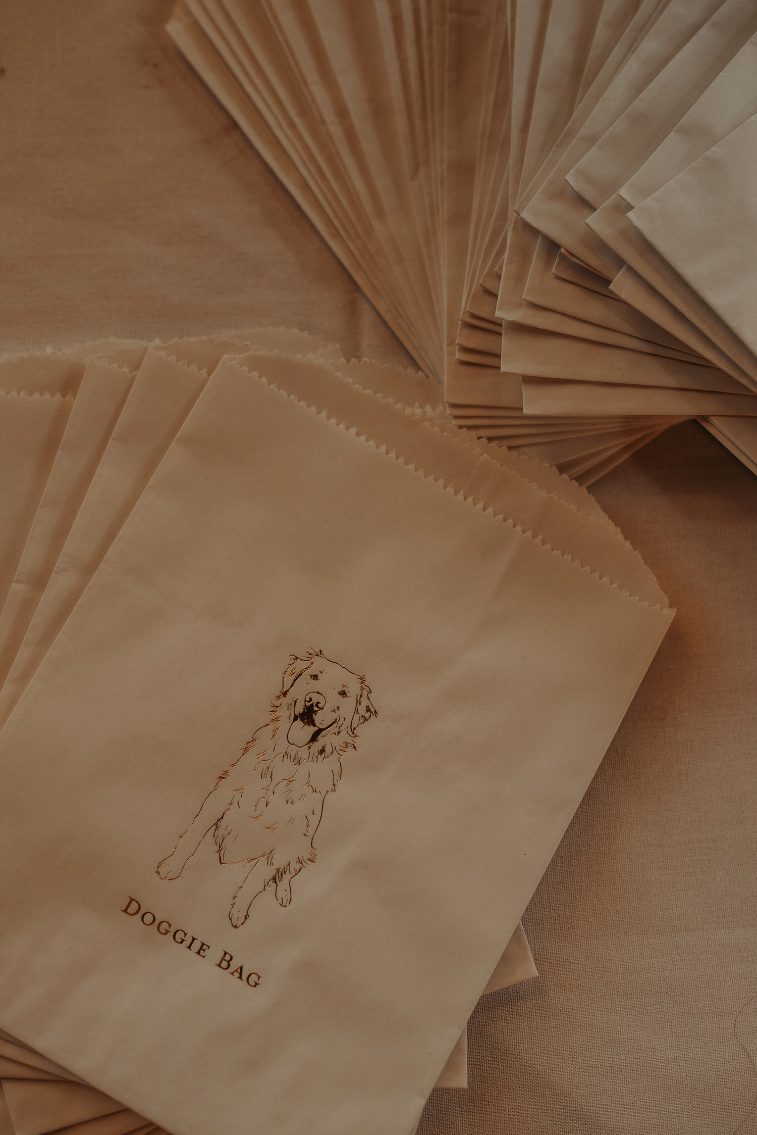 wedding doggie bags